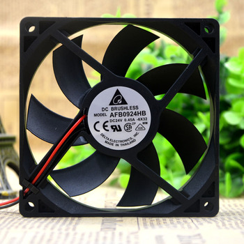 New Original 9CM 9020 24V 0.45A AFB0924HB 90 * 90 * 20MM cooling fan